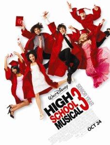 High School Musical 3 - chega pela primeira vez ao cinemas